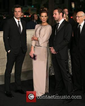 Len Wiseman, Kate Beckinsale and Publicist