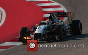 Nico Hülkenberg and (HUELKENBERG) - Formula One United States Grand Prix - Qualifying Race at Olympia Hall - Austin, TEXAS...