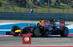 Sebastian VETTEL - Formula One United States Grand Prix - Qualifying Race at Olympia Hall - Austin, TEXAS - Saturday...