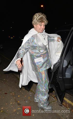 Alan Carr - 'Jonathan Ross' Halloween party - Arrivals - London, United Kingdom - Saturday 1st November 2014
