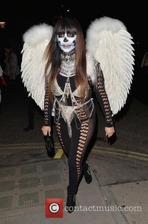 Fran Cutler - 'Jonathan Ross' Halloween party - Arrivals - London, United Kingdom - Saturday 1st November 2014