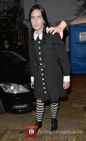 Jimmy Carr - 'Jonathan Ross' Halloween party - Arrivals - London, United Kingdom - Saturday 1st November 2014