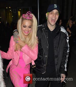 Rita Ora and Ricky Hill