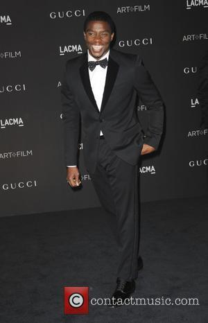 Chadwick Boseman - 2014 LACMA Art+Film Gala honoring Barbara Kruger and Quentin Tarantino presented by Gucci - Arrivals - Los...