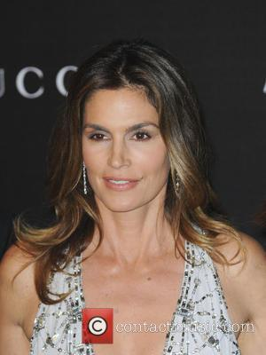 Cindy Crawford - 2014 LACMA Art+Film Gala honoring Barbara Kruger and Quentin Tarantino presented by Gucci - Arrivals - Los...