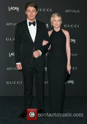 Garrett Hedlund and Kirsten Dunst
