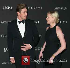 Garrett Hedlund and Kirsten Dunst - A variety of celebrities were photographed as they arrived at the 2014 LACMA Art+Film...