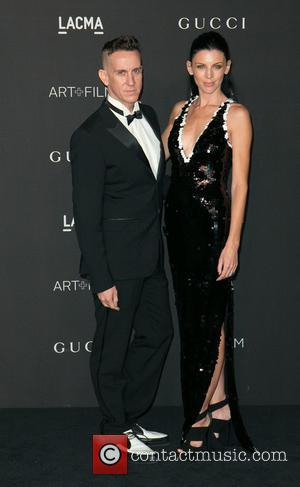Jeremy Scott and Liberty Ross