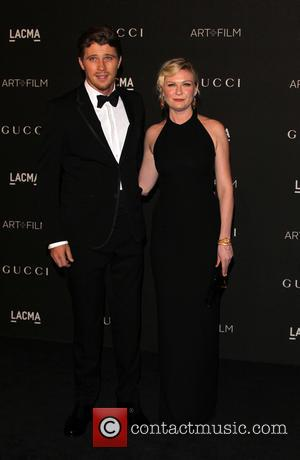 Kirsten Dunst and Garrett Hedlund - A variety of celebrities were photographed as they arrived at the 2014 LACMA Art+Film...