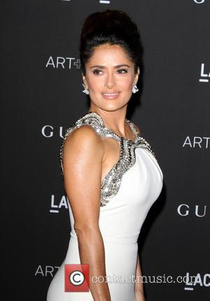 Salma Hayek - A variety of celebrities were photographed as they arrived at the 2014 LACMA Art+Film Gala which honored...