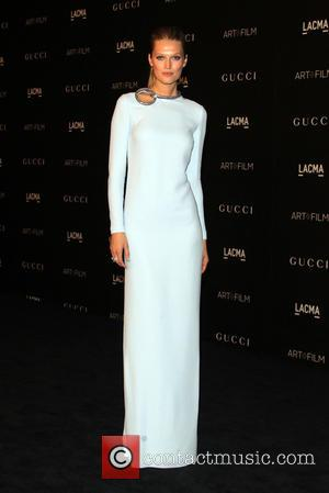 Toni Garrn - A variety of celebrities were photographed as they arrived at the 2014 LACMA Art+Film Gala which honored...