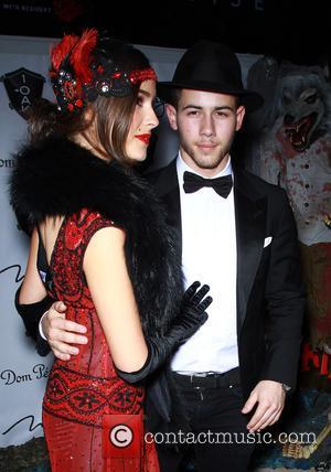 Olivia Culpo and Nick Jonas - Nick Jonas Hosts $20,000 Halloween Costume Contest at 1 Oak Nightclub Inside The Mirage...