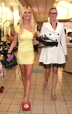 Tara Reid and Marci Star - Ashley Fox store grand opening at Stonewood Mall - Downey, California, United States -...