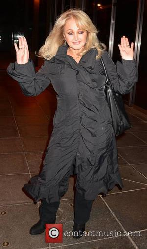 Bonnie Tyler - 'The Saturday Night Show' outside arrivals - Dublin, Ireland - Sunday 2nd November 2014