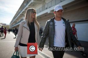 Vivian Rosberg and Nico Rosberg