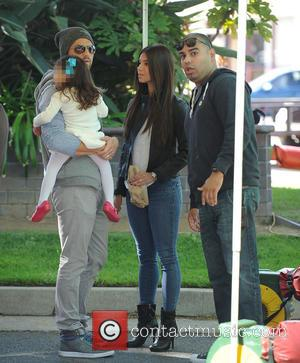 Roselyn Sanchez, Eric Winter and Sebella Rose Winter