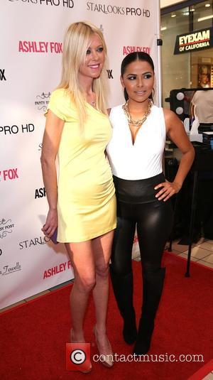 Tara Reid and Mindy Escobar