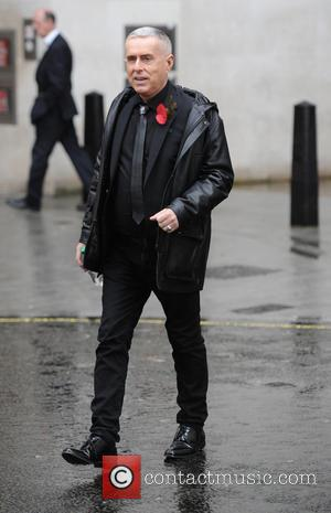 Holly Johnson - Holly Johnson seen out in a wet London - London, United Kingdom - Monday 3rd November 2014