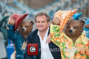 Hugh Bonneville - Photographs from a photo call for The Paddington Trail at the Scoop which was attended by Celebrity...