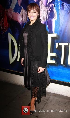 Flavia Cacace - 'Dance till Dawn' press night held at Aldwych Theatre - Departues at Aldwych Theatre - London, United...