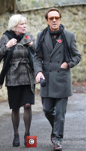 Robert Lindsay - Lynda Bellingham funeral in Crewkerne - Arrivals at St Bartholomew's Church - Crewkerne, United Kingdom - Monday...