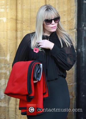 Kate Thornton - Departures - Lynda Bellingham funeral in Crewkerne at St Bartholomew's Church - Crewkerne, United Kingdom - Monday...