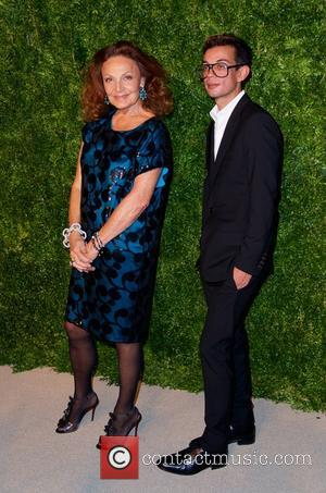 Diane von Fürstenberg - Photographs of a variety of stars as they arrived at the 11th annual CFDA/Vogue Fashion Fund...
