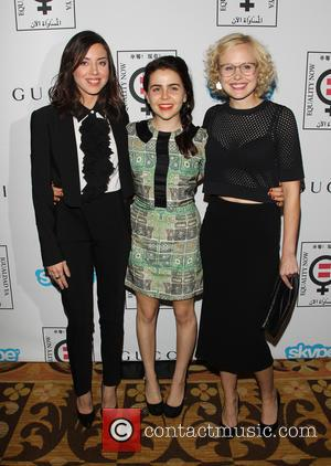 Aubrey Plaza, Mae Whitman and Alison Pill