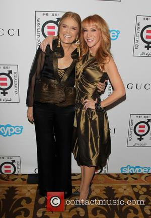 Gloria Steinem and Kathy Griffin - A variety of stars attended the
