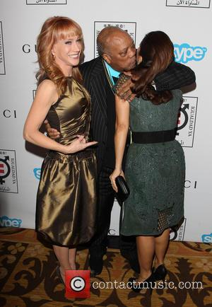 Kathy Griffin, Quincy Jones and Salma Hayek Pinault - A variety of stars attended the