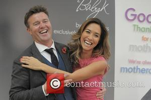 Mark Newton-jones and Myleene Klass