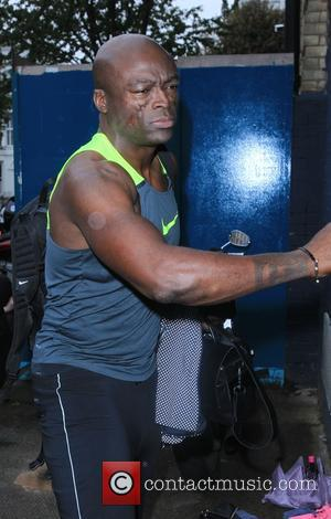 Seal - X Factor final contestants arrive at music studio rehearsals. at x factor - London, United Kingdom - Monday...