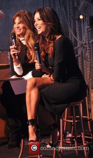 Jemima Khan and Eva Longoria - 4th annual Web Summit in Dublin - Dublin, Ireland - Tuesday 4th November 2014