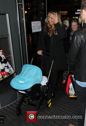 Claire Sweeney and Jaxon Reilly