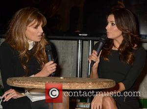 Jemima Khan and Eva Longoria - Eva Longoria is interviewed by Jemima Khan at the Web Summit in Dublin -...