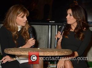 Jemima Khan and Eva Longoria - Eva Longoria is interviewed by Jemima Khan at the Web Summit in Dublin -...