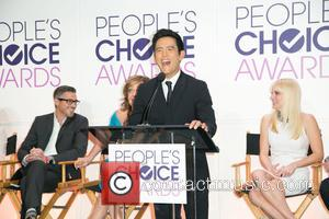 Dave Annable, Allison Janney, John Cho and Anna Faris - Celebrities attend People's Choice Awards 2015 nominations and press conference...