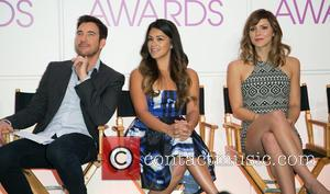 Dylan McDermott, Gina Rodriguez and Katherine McPhee