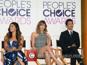 Gina Rodriguez, Katherine Mcphee and John Cho