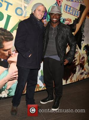 Steven Pasquale and Taye Diggs