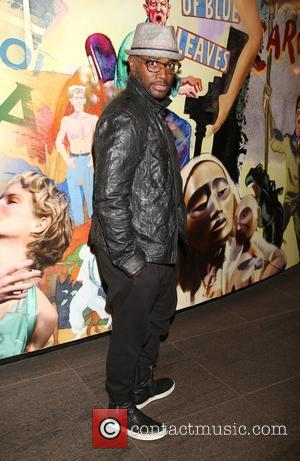 Taye Diggs - Opening night after party for 'The Oldest Boy' at the Mitzi E. Newhouse Theater - Arrivals at...