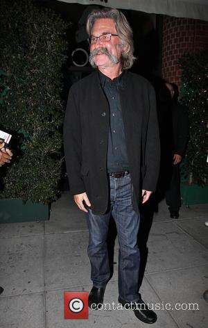 Kurt Russell - The 2015 cast of 'The Hateful Eight' has a dinner meeting at Mr.Chow in Beverly Hills -...