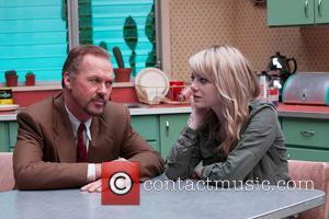 Michael Keaton and Emma Stone - ALEJANDRO GONZALEZ INARRITU (DIR) -  - Tuesday 4th November 2014