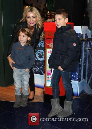 Nicola McLean - Photographs from the launch of Disney Store's 'Share the Magic' Christmas charity campaign was attended by a...
