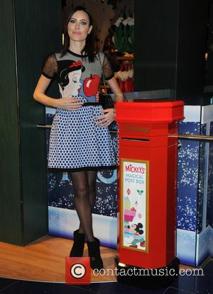 Linzi Stoppard - Photographs from the launch of Disney Store's 'Share the Magic' Christmas charity campaign was attended by a...
