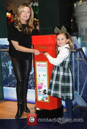 Tina Hobley - Photographs from the launch of Disney Store's 'Share the Magic' Christmas charity campaign was attended by a...