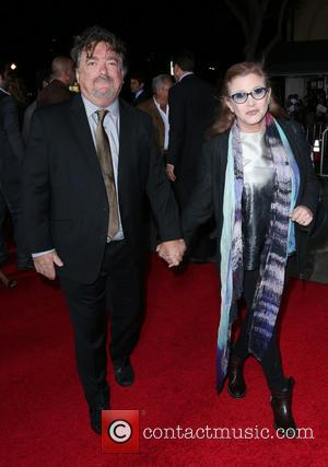 Carrie Fisher - Shots from the red carpet as the stars arrived for the Los Angeles premiere of