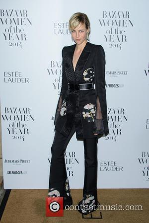 Edie Campbell - Harper's Bazaar Women of the Year Awards 2014 - Arrivals - London, United Kingdom - Tuesday 4th...