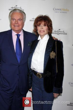 Robert Wagner and Jill St. John - Hallmark Channel's Northpole Screening Reception at La Piazza Restaurant  at The Grove...
