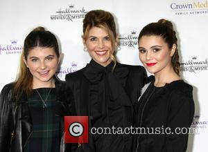 Lori Loughlin, Isabella Rose Giannulli and Olivia Jade Giannulli - Hallmark Channel's Northpole Screening Reception at La Piazza Restaurant...